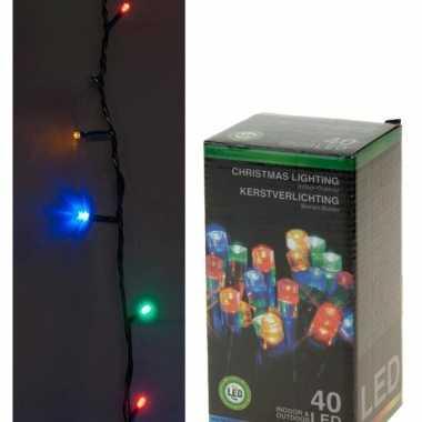 Kerstverlichting 40 lampjes gekleurd