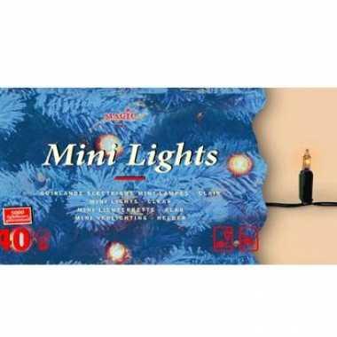 Kerstverlichting helder buiten 40 lampjes