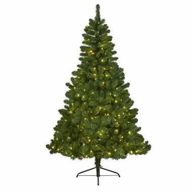 Kunst kerstboom imperial pine met verlichting 180 cm