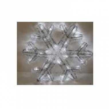 Sneeuwvlok kerstverlichting 27 cm